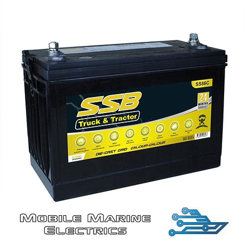 SUPERSTART SS86C 4X4 TRUCK & TRACTOR BATTERY