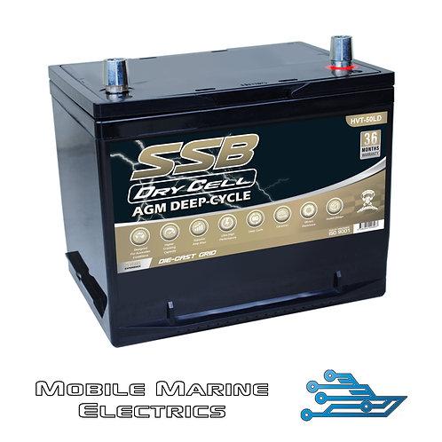 SUPERSTART HVT50LD AGM BATTERY