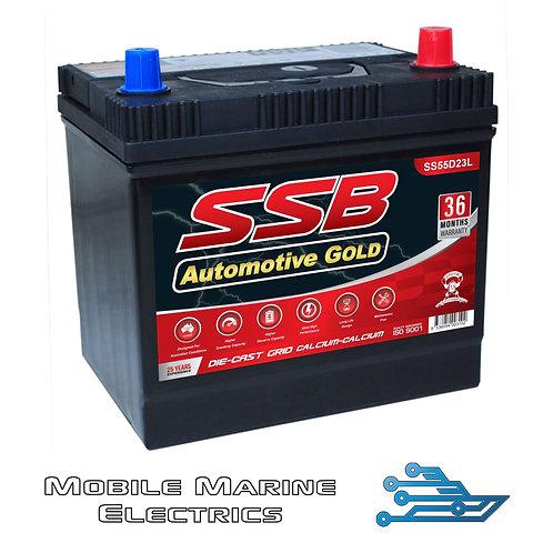SUPERSTART SS55D23L AUTO BATTERY