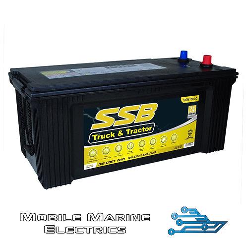 SUPERSTART SSN150LC 4X4 TRUCK & TRACTOR BATTERY