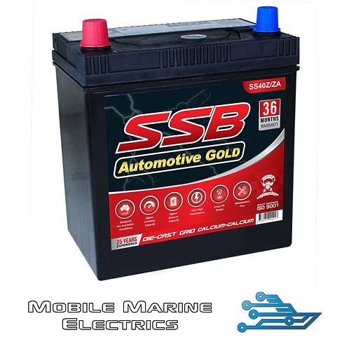 SUPERSTART SS40Z/ZA AUTO BATTERY