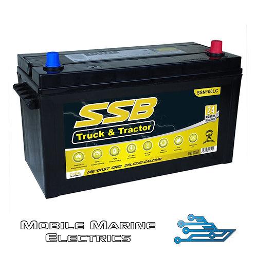 SUPERSTART SSN100LC 4X4 TRUCK & TRACTOR BATTERY