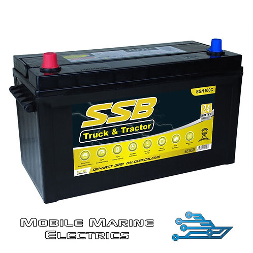 SUPERSTART SSN100C 4X4 TRUCK & TRACTOR BATTERY