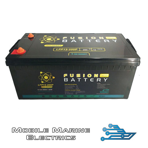 FUSION PULSE LFP-12-200 LITHIUM BATTERY