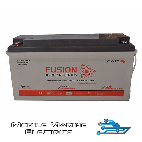 FUSION CBC12V160AH AGM BATTERY