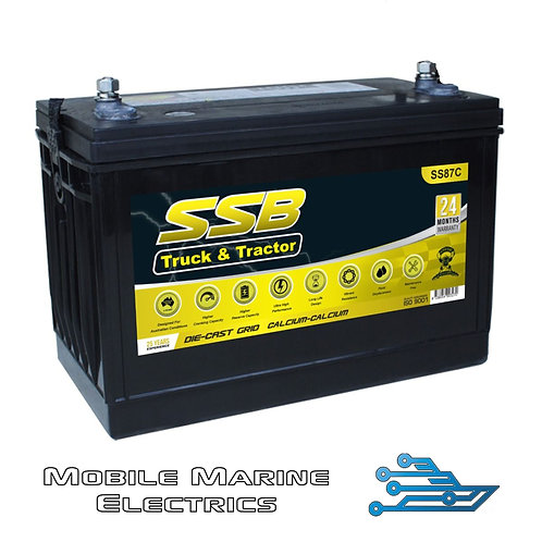 SUPERSTART SS87C 4X4 TRUCK & TRACTOR BATTERY