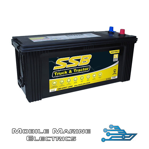 SUPERSTART SSN120LC 4X4 TRUCK & TRACTOR BATTERY