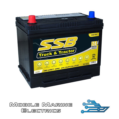 SUPERSTART SS70C 4X4 TRUCK & TRACTOR BATTERY