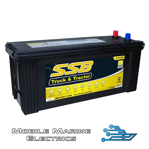 SUPERSTART SSN120C 4X4 TRUCK & TRACTOR BATTERY