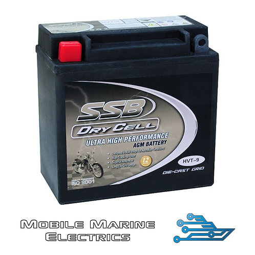 SUPERSTART HVT-9 AGM BATTERY