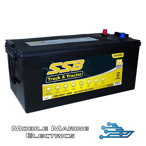 SUPERSTART SSN200C 4X4 TRUCK & TRACTOR BATTERY