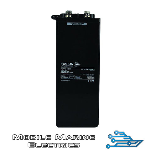 FUSION LFPC12-100LFT SLIM LITHIUM BATTERY