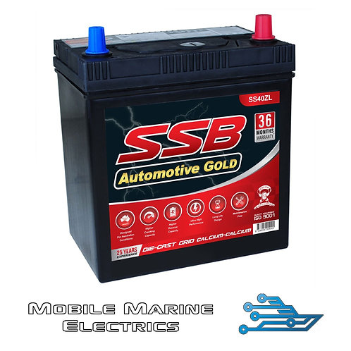 SUPERSTART SS40ZL AUTO BATTERY