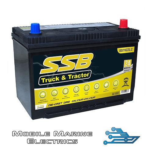 SUPERSTART SS70ZZLC 4X4 TRUCK & TRACTOR BATTERY