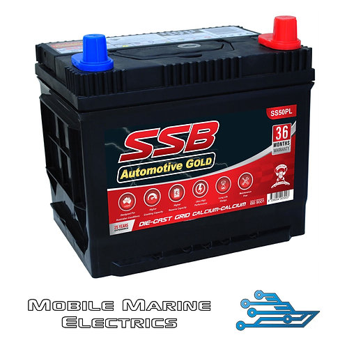 SUPERSTART SS50PL AUTO BATTERY