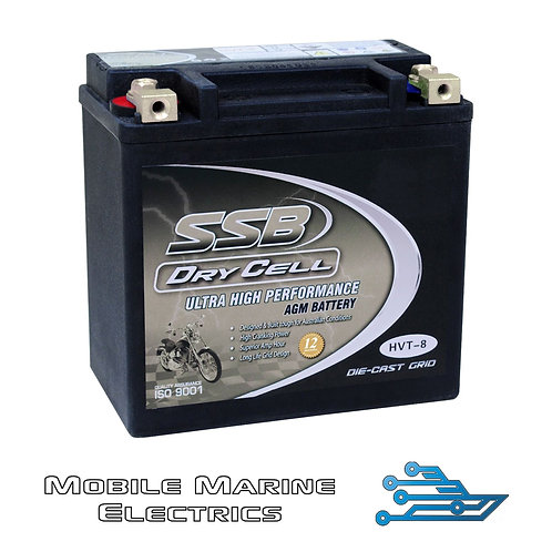 SUPERSTART HVT-8 AGM BATTERY