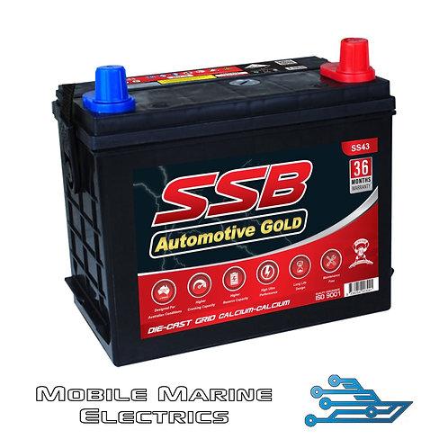 SUPERSTART SS43 AUTO BATTERY