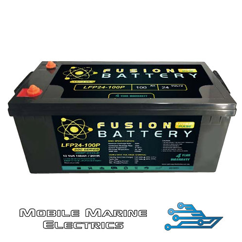 FUSION PULSE LFP-24-100 LITHIUM BATTERY