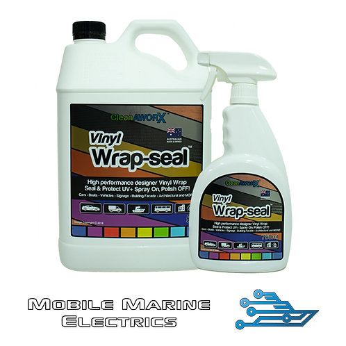 CleanAWORX Vinyl Wrap Seal