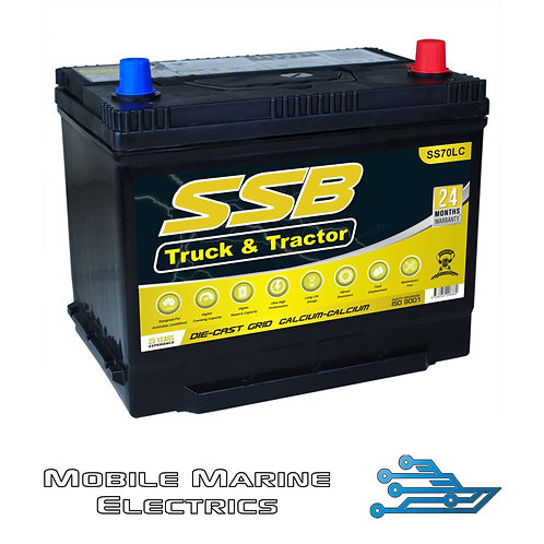 SUPERSTART SS70LC 4X4 TRUCK & TRACTOR BATTERY