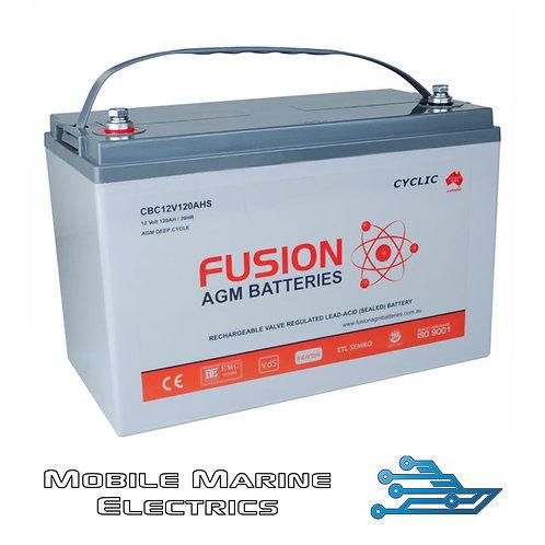 FUSION CBC12V120AH AGM BATTERY