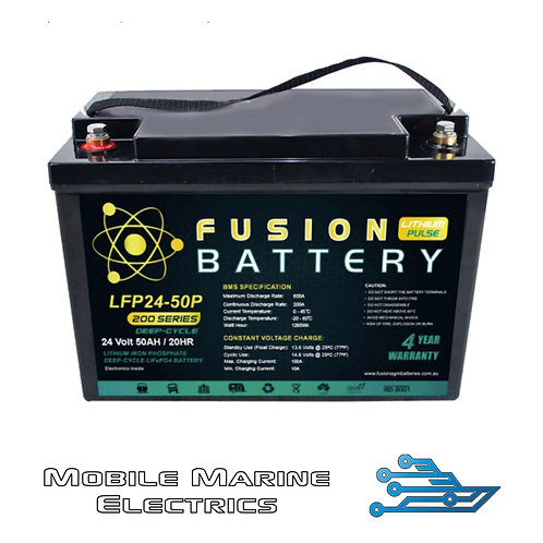 FUSION PULSE LFP-24-50 LITHIUM BATTERY