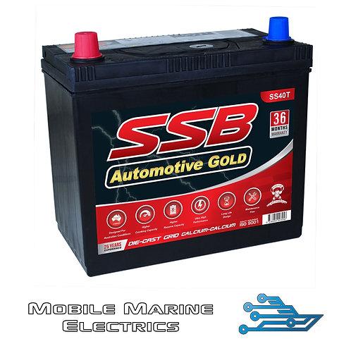 SUPERSTART SS40T AUTO BATTERY