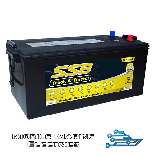 SUPERSTART SSN200LC 4X4 TRUCK & TRACTOR BATTERY