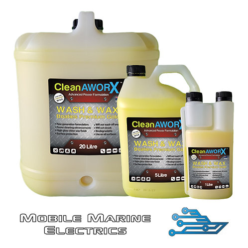 CleanAWORX Wash & Wax Boatie's Premium Gold