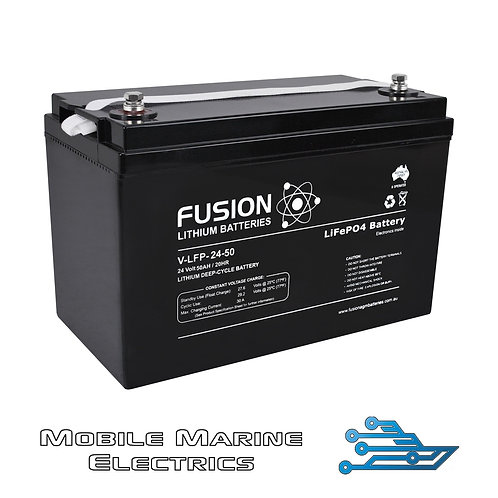 FUSION V-LFP-24-50 LITHIUM BATTERY