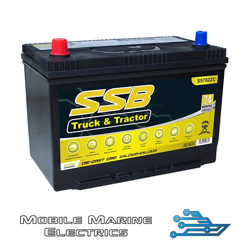 SUPERSTART SS70ZZC 4X4 TRUCK & TRACTOR BATTERY