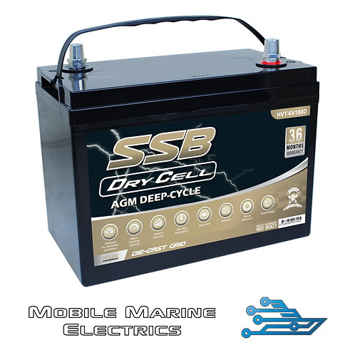 SUPERSTART 6V HVT-180D AGM BATTERY