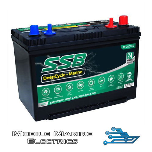 SUPERSTART MF70ZZLD DEEP CYCLE BATTERY
