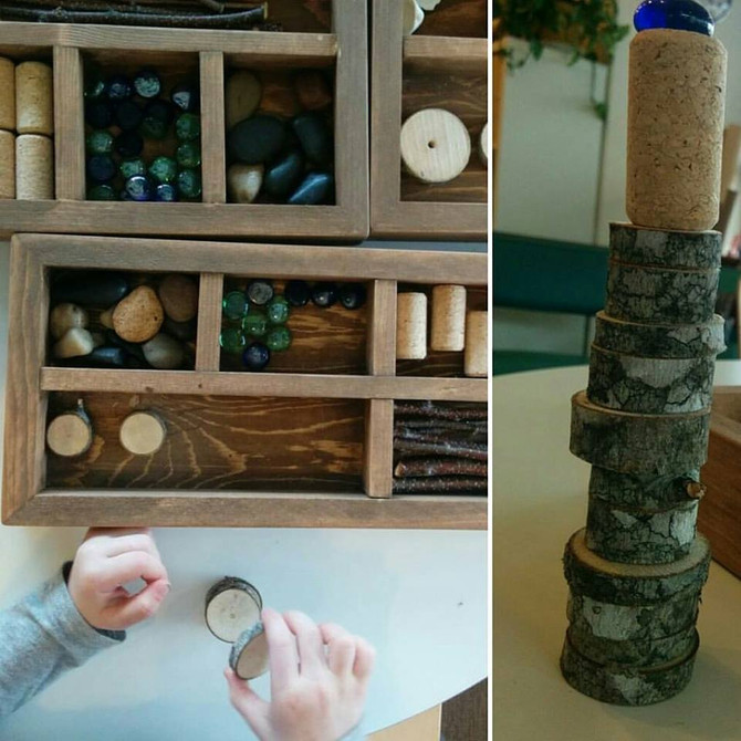 Loose Parts Part I                                  Open Ended & Meaningful Gifts to Play