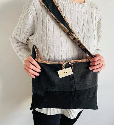 Upcycled Denim Shoulder Bag