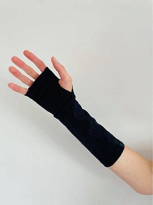 Dark Navy Merino Gloves