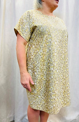 Gold Speckle Dress