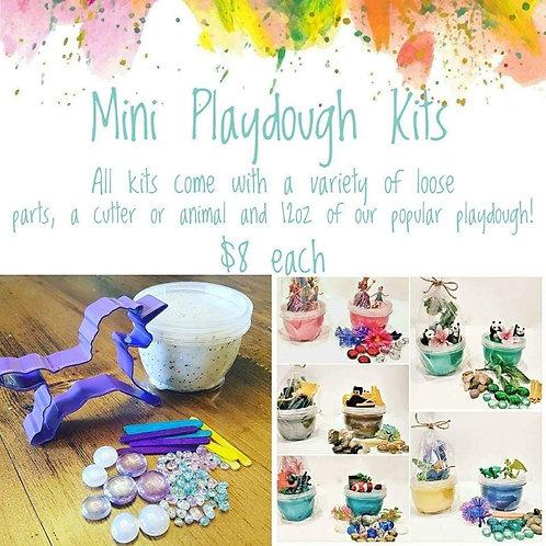 Mini Playdough Kits