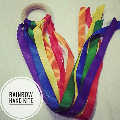 Rainbow Hand Kite