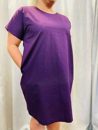 Grape Pocket Dress