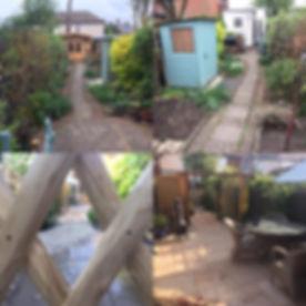 A new garden layout