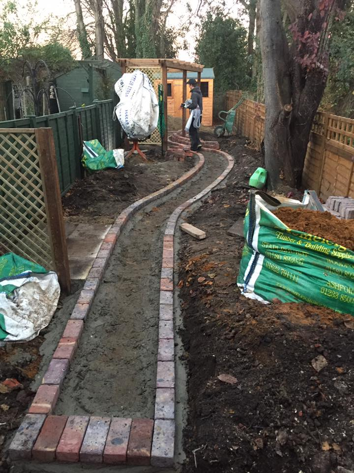 The outline of a new path