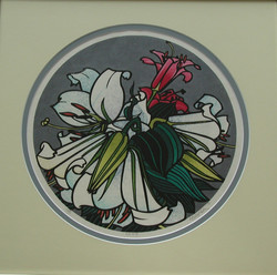 Lilies by Karhu no frame