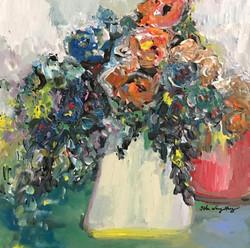 White vase bouquet II