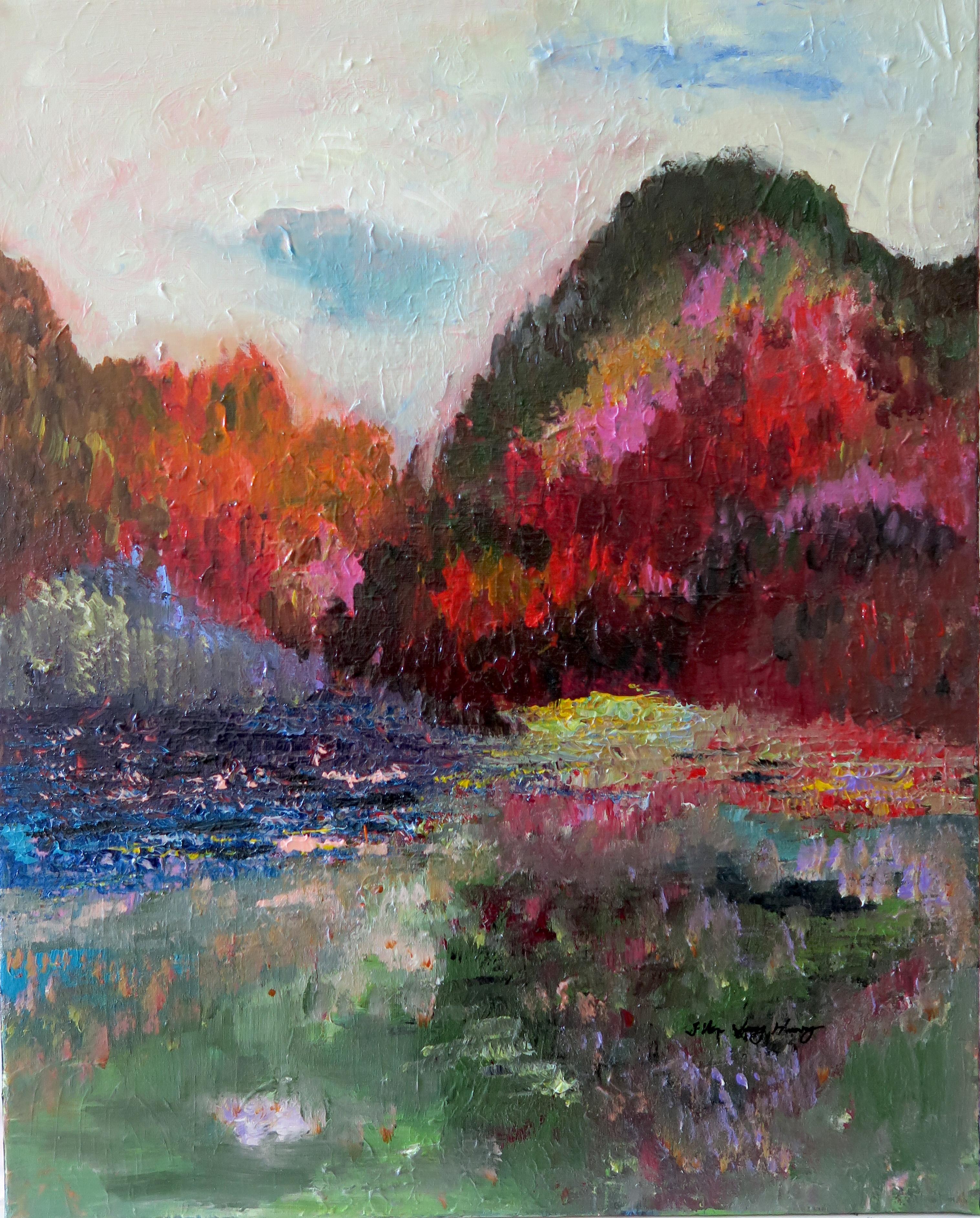 Autumn mountain 16 x 20