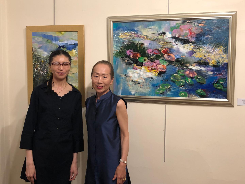 Lily Pond, artist I-Uen Wang Hwang