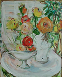 Still Life Table and Vases