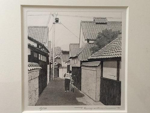 Alley, Narrow Street in Yamato