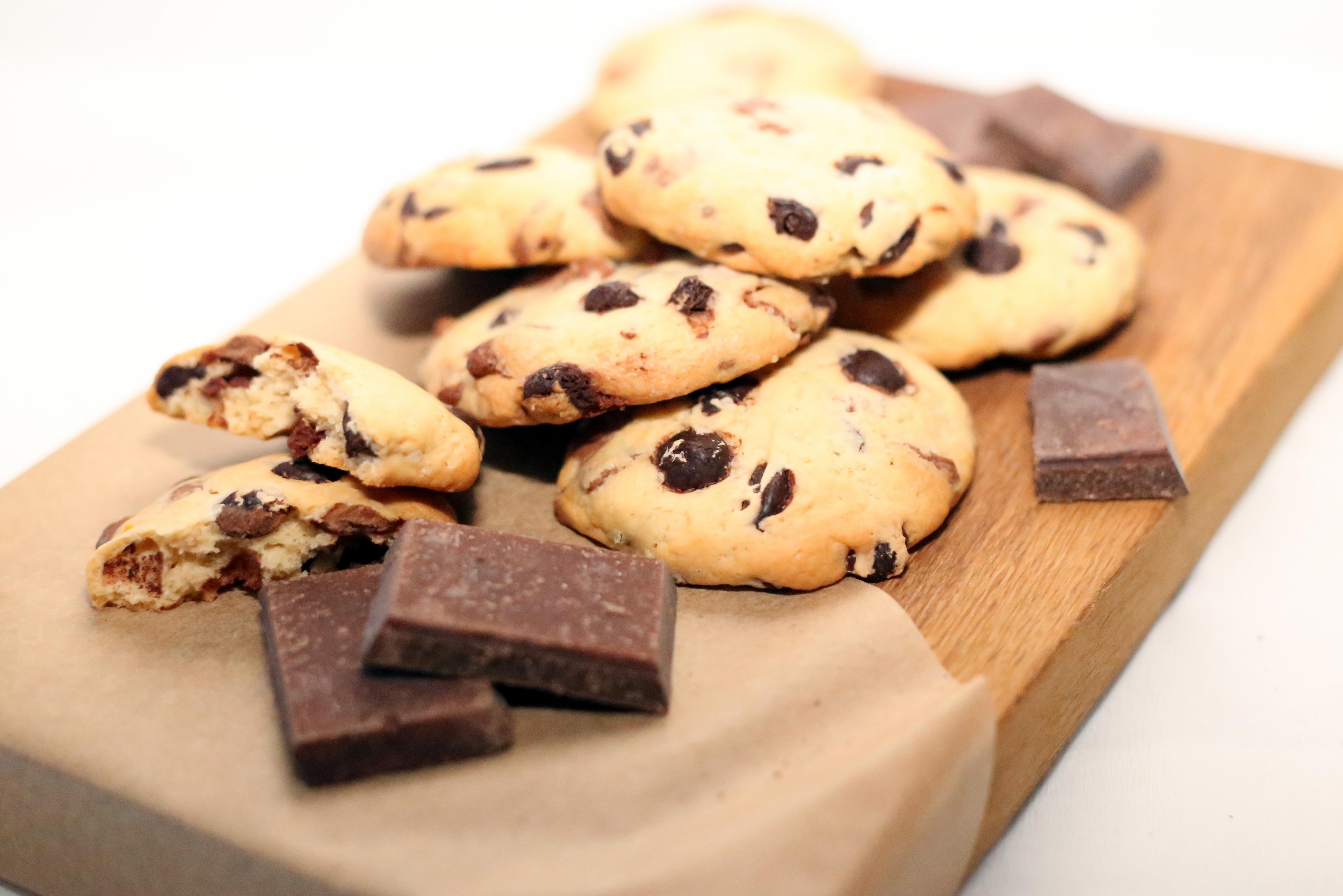 Печенье с бельгийским шоколадом