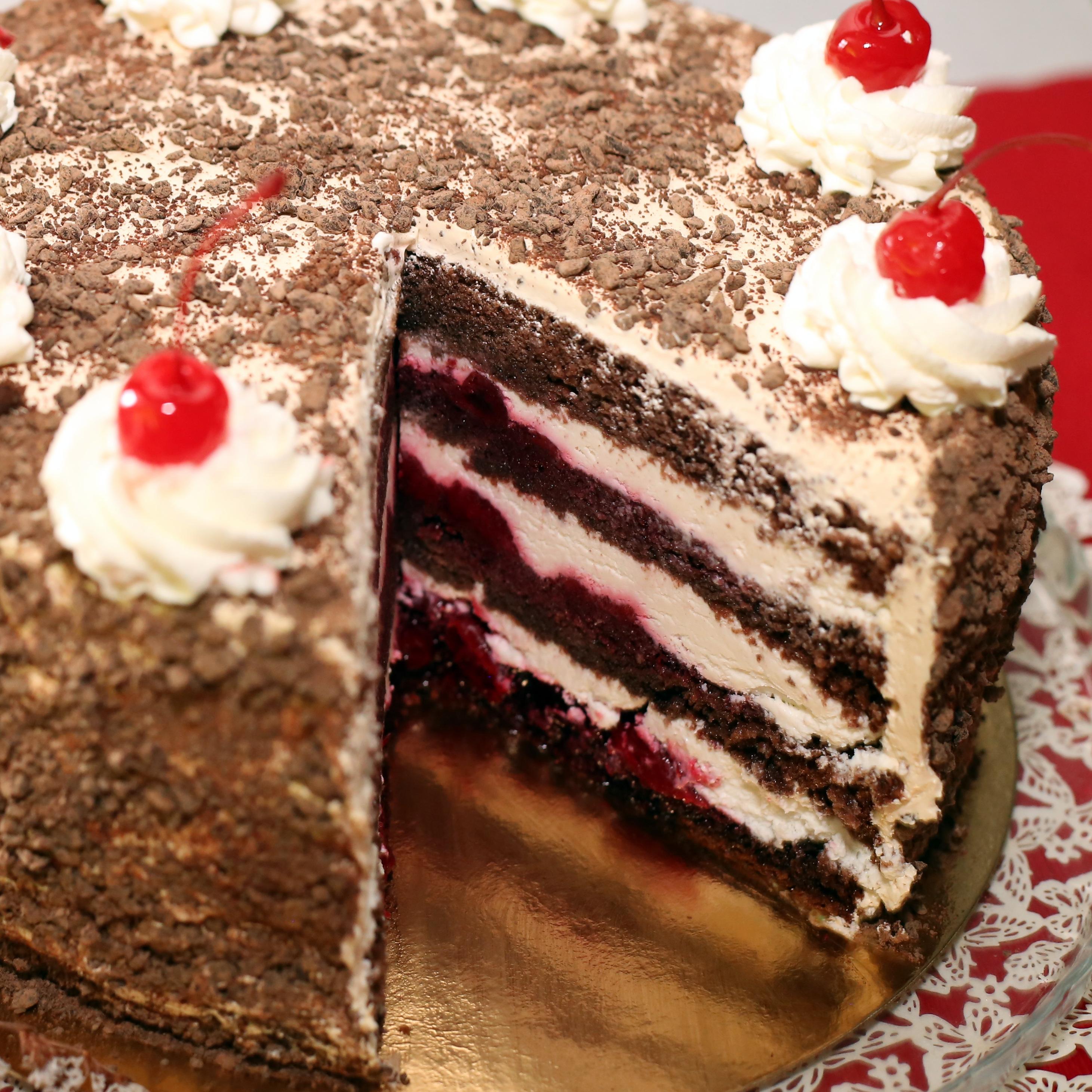 """Торт """"Пьяная Вишня"""""""